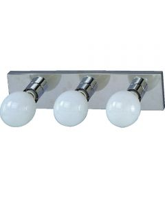 Boston Harbor 3-Light Dimmable Vanity Light Fixture, Chrome