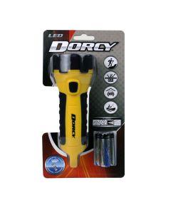 Dorcy 55 Lumen Waterproof Floating LED Flashlight, 3AA