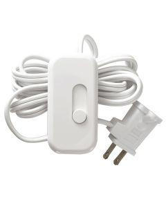 White Portable CFL/LED Dimmer