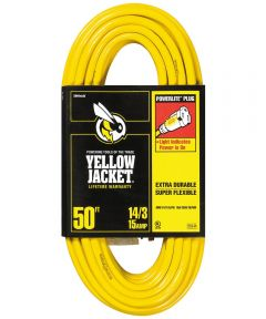 50 ft. 14/3 Yellow Jacket Extension Cord
