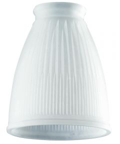 Westinghouse 2-1/4 in. Frosted Pleated Lamp Shade