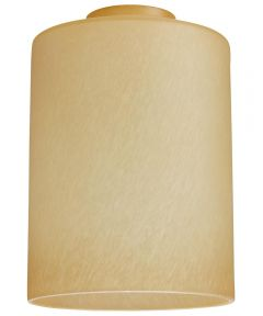 Westinghouse 4-3/4 in. Cylinder Amber Mist Shade