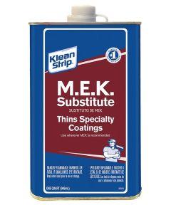 Klean-Strip Methyl Ethyl Ketone (M.E.K.) Substitute, 1 Quart