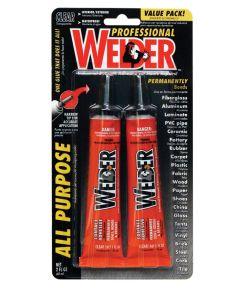 1 oz.  Professional Welder Adhesive 2 Count
