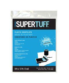 9 ft. x 12 ft. 2MM SuperTuff Mediumweight Plastic Drop Cloth