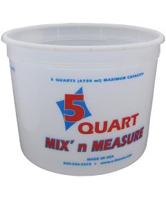 5 Quart Mix N' Measure Container
