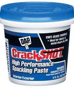 1/2 Pint CrackShot Spackling Interior/Exterior