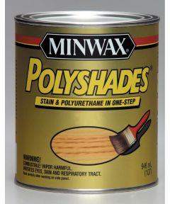 1/2 Pint Pecan Polyshades Wood Stain Satin