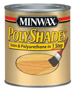 1/2 Pint Mahogany Polyshades Wood Stain Satin