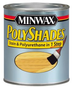 1/2 Pint Colonial Oak Polyshades Gloss Wood Stains