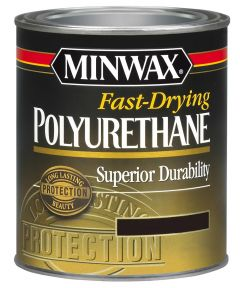 1/2 Pint Clear Semi Gloss Finish Fast-Drying Polyurethane