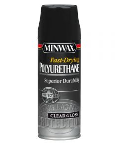 11.5 oz. Clear Gloss Fast-Drying Polyurethane Finish Aerosol