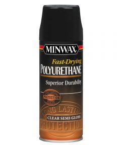 11.5 oz. Semi-Gloss Fast-Drying Polyurethane Finish Aerosol