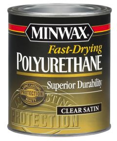1 Quart Fast-Drying Polyurethane Satin Finish