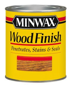 1 Quart Dark Walnut Wood Finish Interior Wood