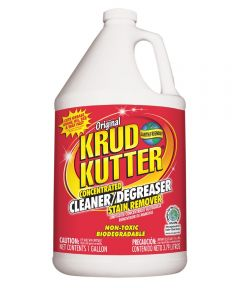 Krud Kutter Concentrated Biodegradable Cleaner/Degreaser Stain Remover, 1 Gallon