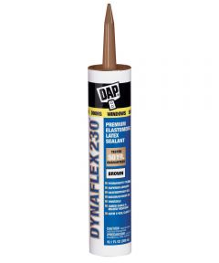 Brown Dynaflex 230 Premium Elastomeric Latex Sealant, 10.1 oz.