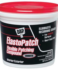 1 Quart White Elastomeric Patch & Caulking Compound