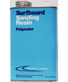 Surfboard Sanding Resin Pint