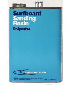 Surfboard Sanding Resin Gal
