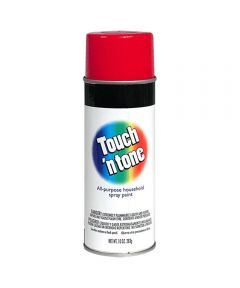Touch N Tone General Purpose Spray Paint, 10 oz., Cherry Red