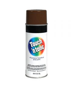 Touch N Tone General Purpose Spray Paint, 10 oz., Leather Brown