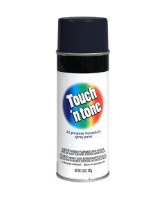 Touch N Tone General Purpose Spray Paint, 10 oz., Semi-Gloss Black