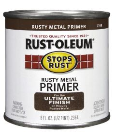 Stops Rust Rusty Metal Primer, Half Pint, Rusty Metal Primer