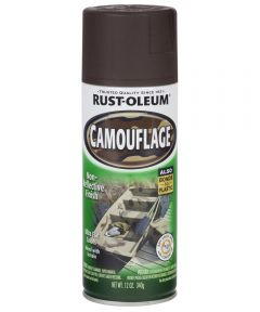 Specialty Camouflage Spray, 12 oz Spray Paint, Earth Brown