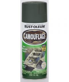 Specialty Camouflage Spray, 12 oz Spray Paint, Deep Forest Green
