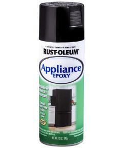 Specialty Appliance Epoxy Spray, 12 oz Spray Paint, Black