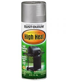 Specialty High Heat Spray, 12 oz Spray Paint, Silver