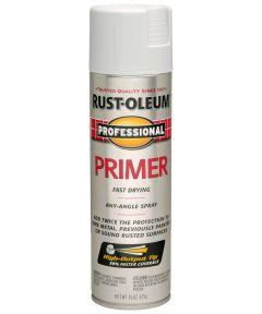 Professional Primer Spray Paint, 15 oz., Flat Gray