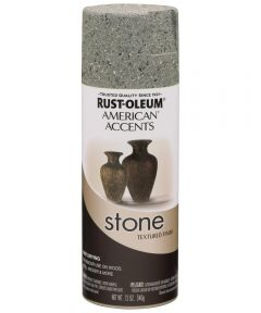 American Accents Stone Spray Paint, Gray Stone