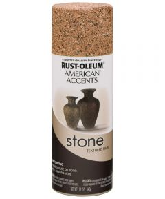 American Accents Stone Spray Paint, Sienna Stone