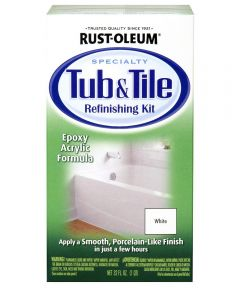Specialty Tub & Tile Refinishing Kit, Kit, White