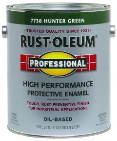 Professional High Performance Protective Enamel, 1 Gallon, Hunter Green