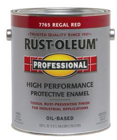 Professional High Performance Protective Enamel, 1 Gallon, Regal Red