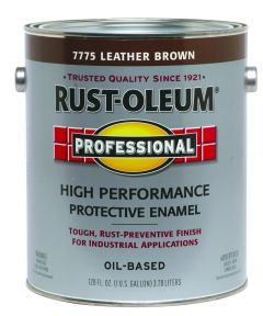 Professional High Performance Protective Enamel, 1 Gallon, Leather Brown