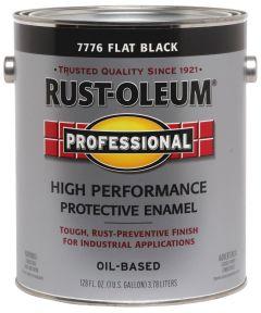 Professional High Performance Protective Enamel, 1 Gallon, Flat Black