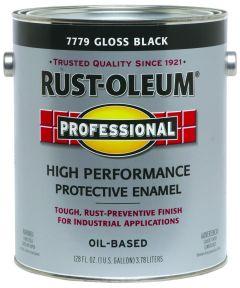 Professional High Performance Protective Enamel, 1 Gallon, Gloss Black
