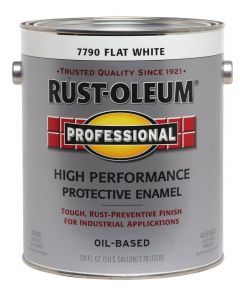 Professional High Performance Protective Enamel, 1 Gallon, Flat White