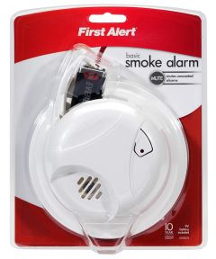 Smoke Alarm With Silence Feature