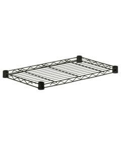 14 x 24 Inch Black Steel Shelf