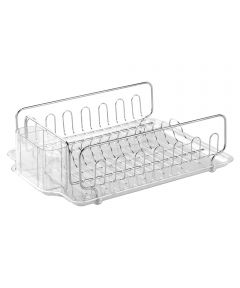 Chrome Forma Lupe Dish Drying Rack