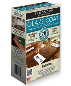 1 Pint Crystal Clear Glaze Coat High Gloss Epoxy Coating