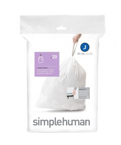 Code J Trash Liner, 30-40 Liters/8-10.5 Gallons, 20 Liners