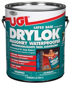 1 Gallon Gray Latex Base Drylok Masonry