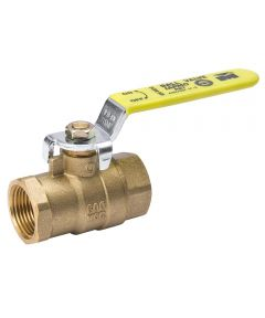 3/4 in. IPS Low Lead Gland Pack Full Port Ball Valve