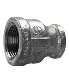 3/4 in. x 1/2 in. Galvanized Reducer Coupling